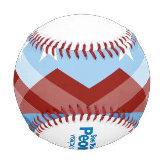 Peoriaの旗の野球 野球ボール