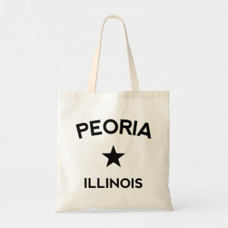 Peoriaイリノイ トートバッグ