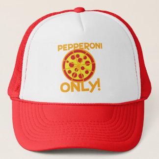 pepperoniだけ! ピザデザイン キャップ