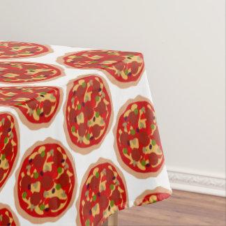Pepperoniピザパターンディナー・パーティのテーブルクロス テーブルクロス