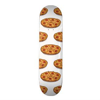 Pepperoniピザパターン; イタリアンな食糧 21.6cm オールドスクールスケートボードデッキ