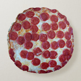 Pepperoniピザ写真 ラウンドクッション