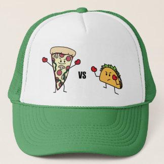 Pepperoniピザ対タコス: メキシコ人対イタリア語 キャップ