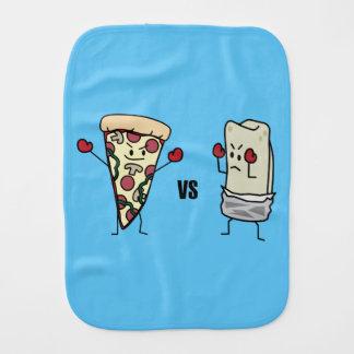 Pepperoniピザ対ブリトー: メキシコ人対イタリア語 バープクロス