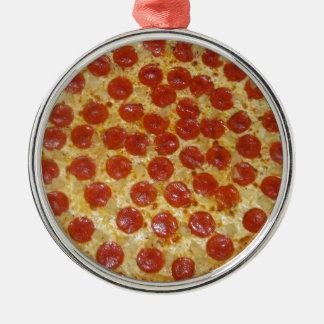 Pepperoniピザ メタルオーナメント