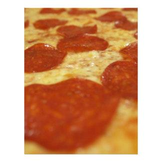 pepperoniピザ レターヘッド