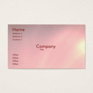 Peralizedのピンク 名刺