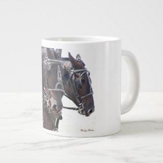 Percheronの馬 ジャンボコーヒーマグカップ