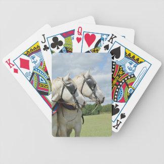 Percheronの馬 バイスクルトランプ