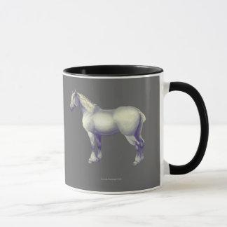 Percheronの馬 マグカップ