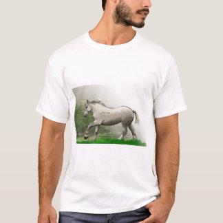 percheronの馬 tシャツ