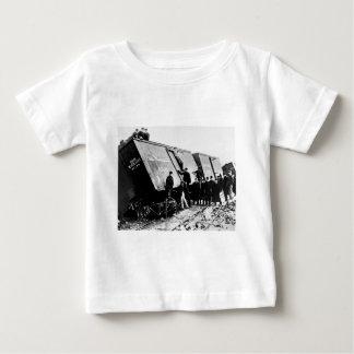 Pere Marquetteの鉄道の貨物大破 ベビーTシャツ