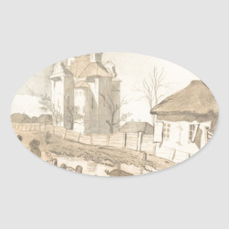 Pereiaslav。 仲裁の教会 楕円形シール