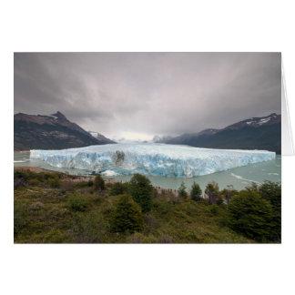 Peritoモレノの氷河、アルゼンチン カード