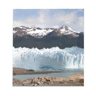 Peritoモレノの氷河、アルゼンチン ノートパッド