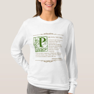 Permaculture -定義(3) -緑及びブラウン tシャツ