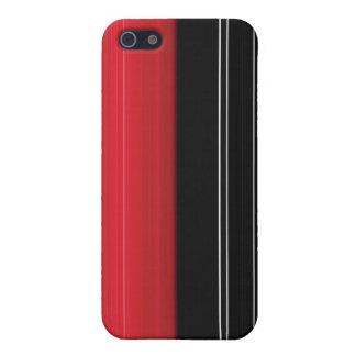 Pernは縞で飾ります iPhone 5 Case