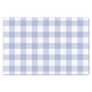 Perriwinkleの青いバッファローの点検パターン 薄葉紙