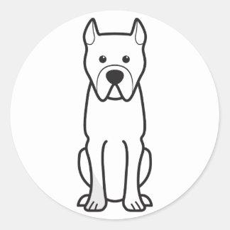 Perro de Presa Canario ラウンドシール