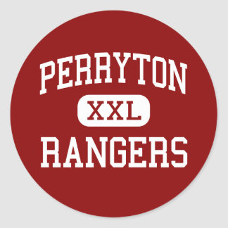 Perryton -レーンジャー-高等学校- Perrytonテキサス州 ラウンドシール