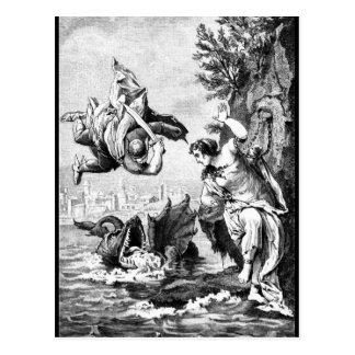 Perseusおよびアンドロメダ ポストカード