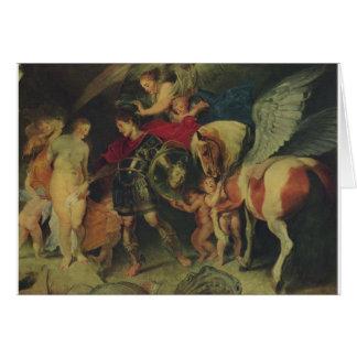 Perseusおよびアンドロメダ(C. 1622年) カード