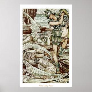 Perseusの殺害のクラゲ ポスター