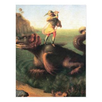 Perseus著救われるアンドロメダ ポストカード
