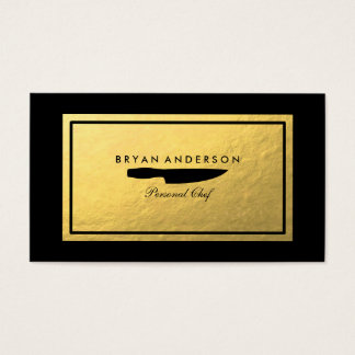Personal Chef Business Card 名刺