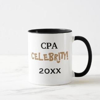 Personalisable特別なCPAの会計士のお祝い マグカップ