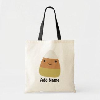 Personalizableかわいいキャンデートウモロコシ トートバッグ