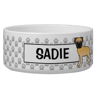 Personalizableの子鹿のBullmastiffの犬および名前