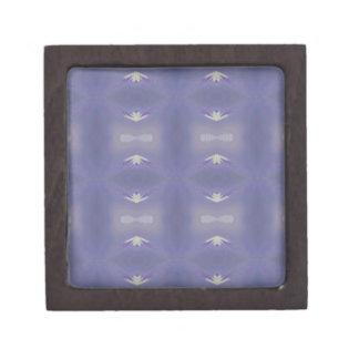 Personalizableの紫色の粋でモダンなパターン ギフトボックス