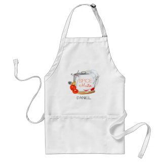 Personalized apron Spice Master chef apron スタンダードエプロン