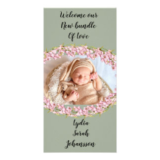 Personalized baby announcements カード
