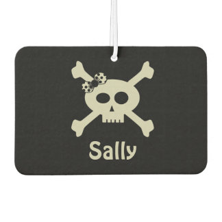 Personalized Cute Pirate Flag Air Freshener カーエアーフレッシュナー