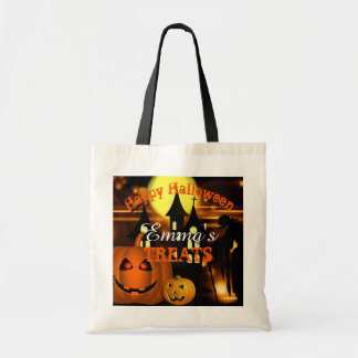 Personalized Happy Halloween Bag トートバッグ