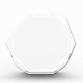 Personalized Octagon Award 表彰盾