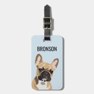 Personalized Pet French Bulldog | Frenchie ラゲッジタグ