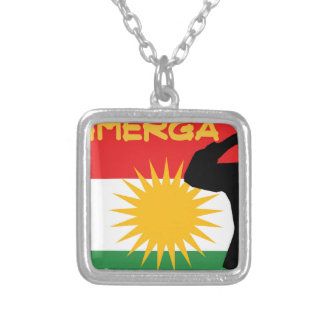 Peshmerga シルバープレートネックレス