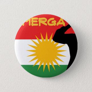 Peshmerga 5.7cm 丸型バッジ