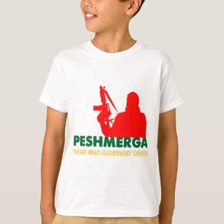 PESHMERHA -人WHOは死に直面します Tシャツ