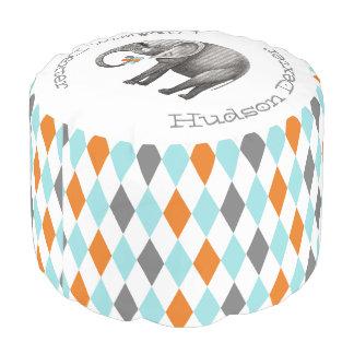 Pesonalizedのサーカス象の抽象芸術の立方体の芸術 プーフ