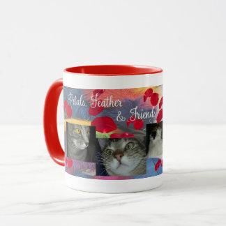 Petals Feather Corduroy and Mercedes Mug マグカップ