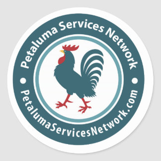 Petalumaサービスネットワーク ラウンドシール