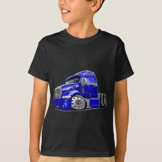 Peterbiltの青のトラック Tシャツ