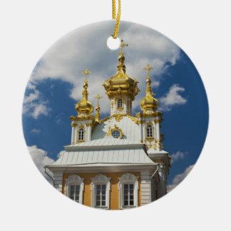 Peterhofの壮大な宮殿、チャペルの翼2 セラミックオーナメント