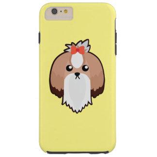 Petoryのシーズー(犬)のTzuのiPhoneの場合 Tough iPhone 6 Plus ケース