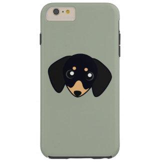 Petoryのダックスフント Tough iPhone 6 Plus ケース