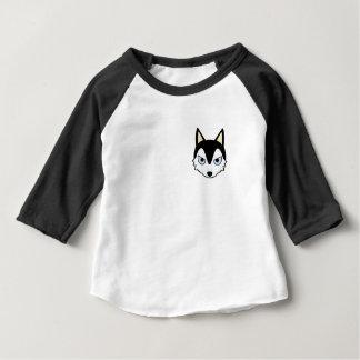 Petoryのハスキー ベビーTシャツ